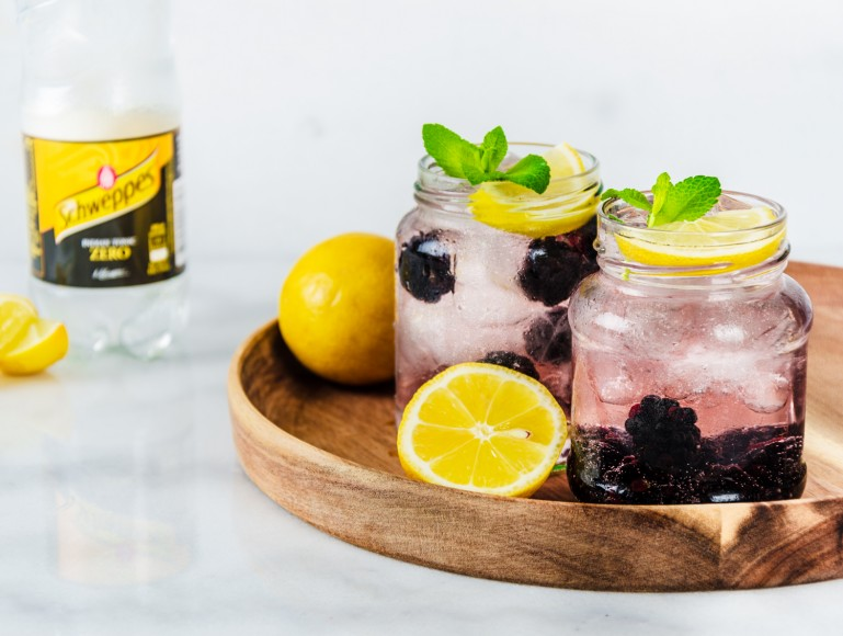 Gin & Tonic Zero – Blackberry & Lemon