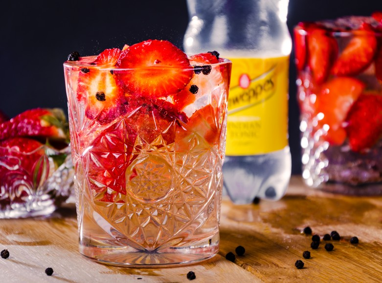Gin & Tonic Strawberry