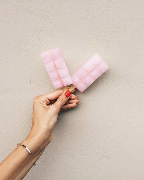 Cherry Popsicle