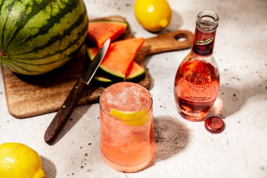 Frozen Gin & Tonic Hibiscus